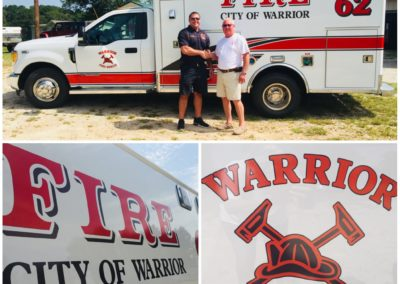 City of Warrior Fire Type I Wheeled Coach Remount