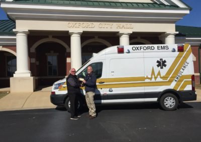 Oxford EMS New Wheeled Coach High Roof Transit