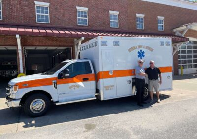 Ambulance Remount for Eufaula Fire Department